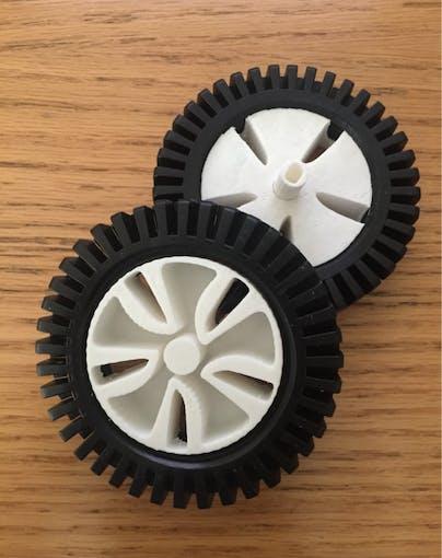 Final prototype wheels