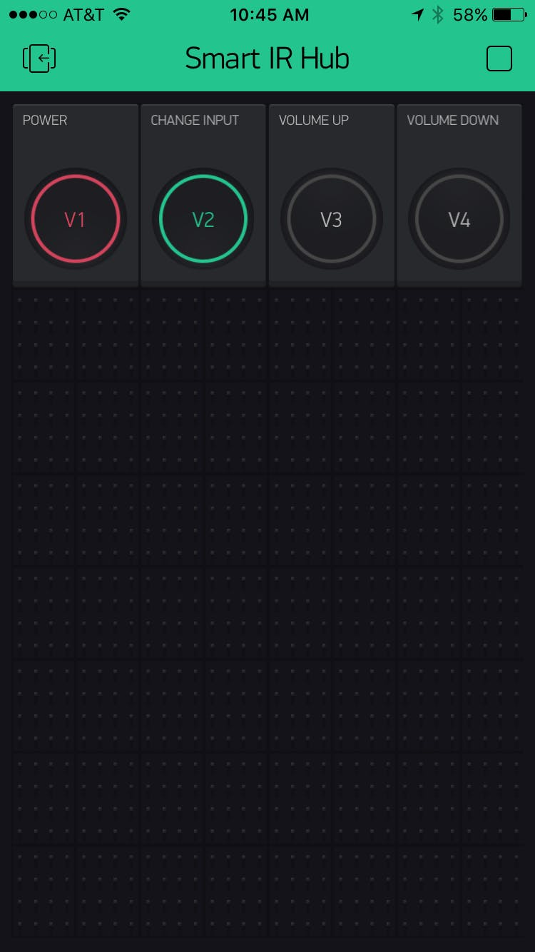 Blynk Remote Control App