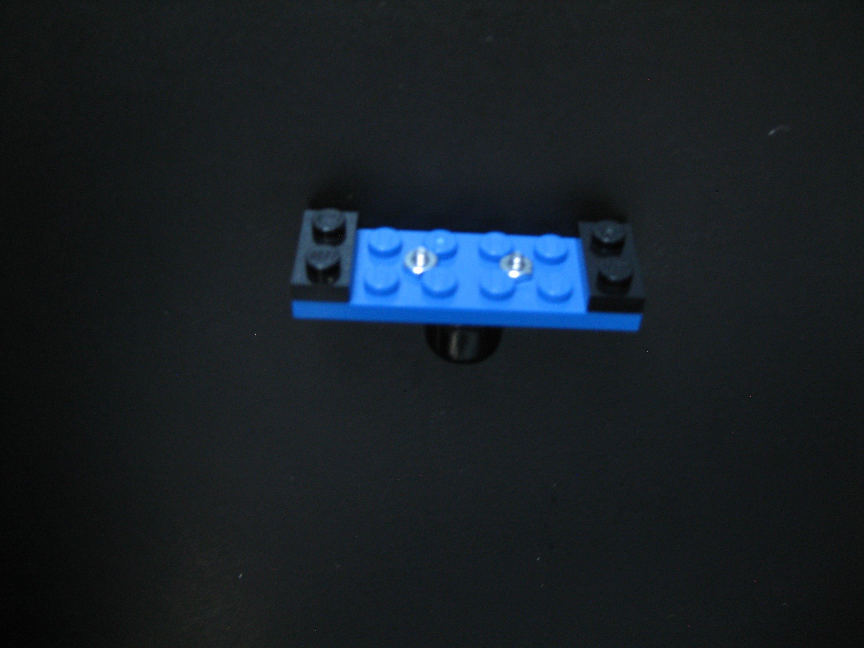Castor assembly top