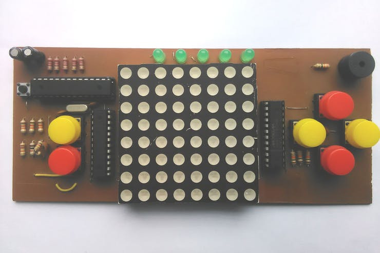 Arduino Dot Matrix Game Console - Seeed Project Hub