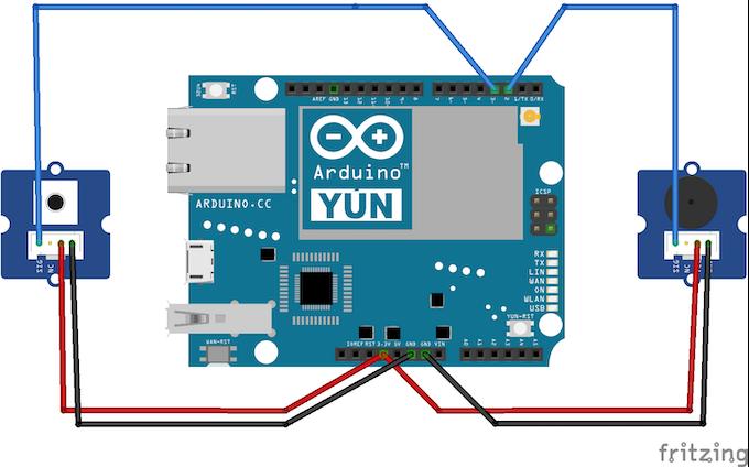 Use uber with aws iot lambda arduino starter kit
