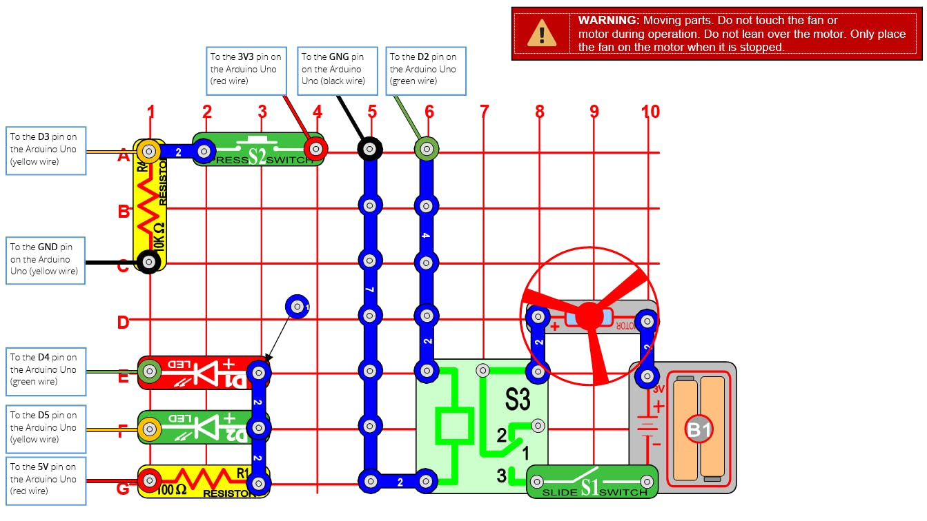 Snap Circuits Diagrams Wiring Diagram Will Be A Thing Circuit Extreme U00ae Count Down Launcher Hackster Io Elenco 3d Meg Together