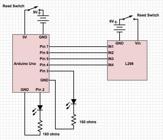 Complete circuit schematic diagram