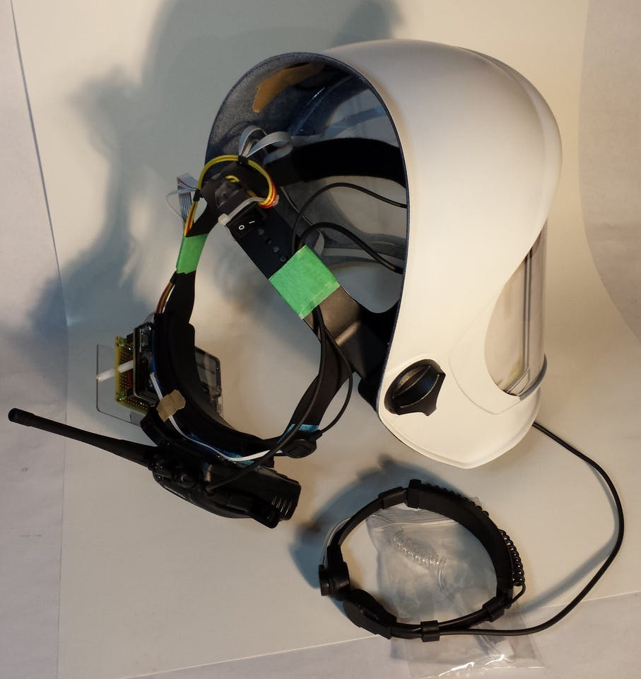 Star Wars Droid Translator Helmets - ster.io  Prong Wiring Diagram For A Helmet on