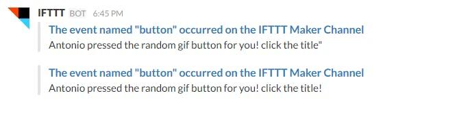 Friendly spam on Slack