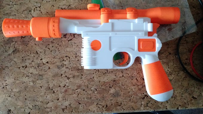 Other side of the blaster