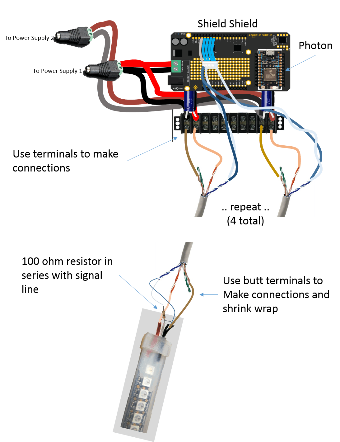 Illustration of wiring