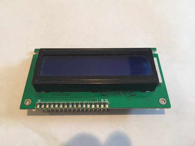 Portable arduino temp humidity sensor with lcd
