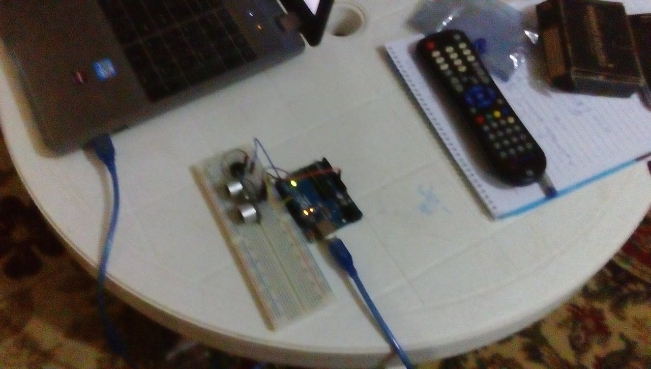 Detecting Obstacles And Warning Arduino Ultrasonic Fun Easy To Build Buzzer Circuit Project Hub