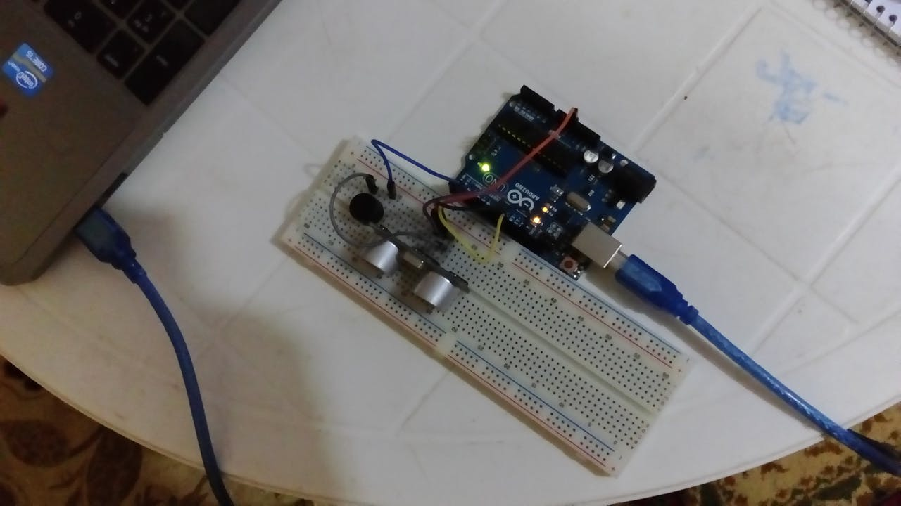 Detecting Obstacles And Warning Arduino Ultrasonic Buzzer In A Circuit Project Hub