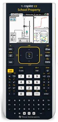 TI-Nspire™ CX Handheld