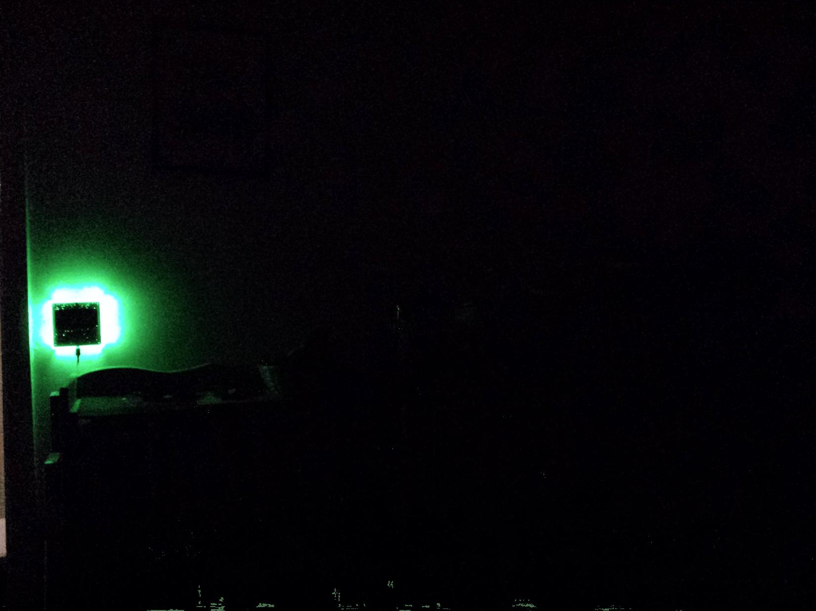 Glow in the dark.