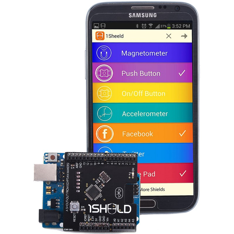 Amazoncom: 1Sheeld For Arduino and Android
