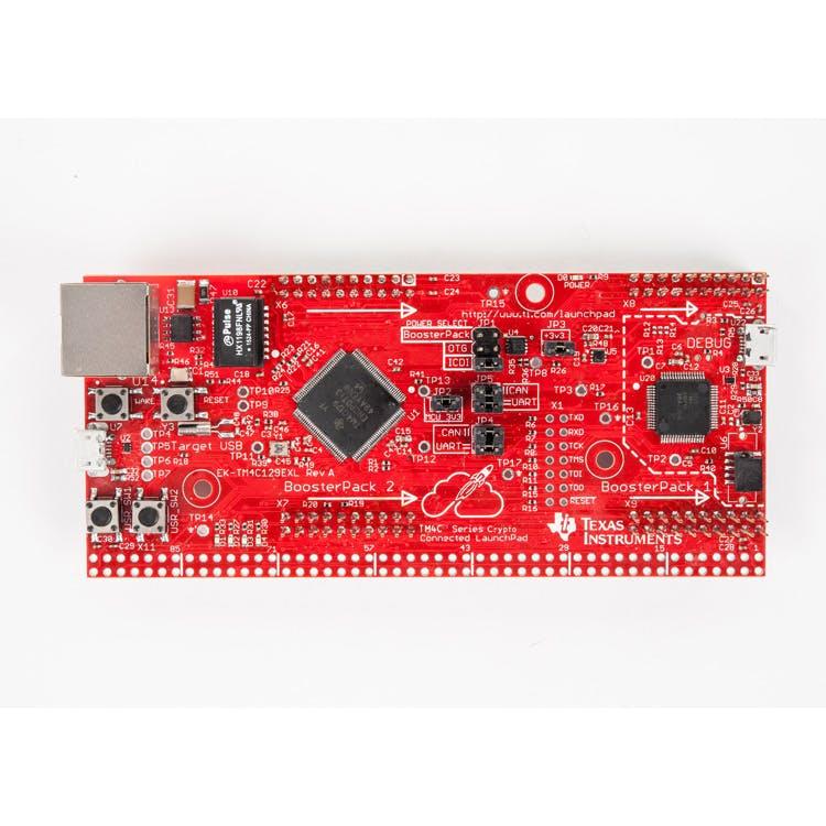 EK-TM4C129EXL TM4C Tiva Crypto Ethernet LaunchPad