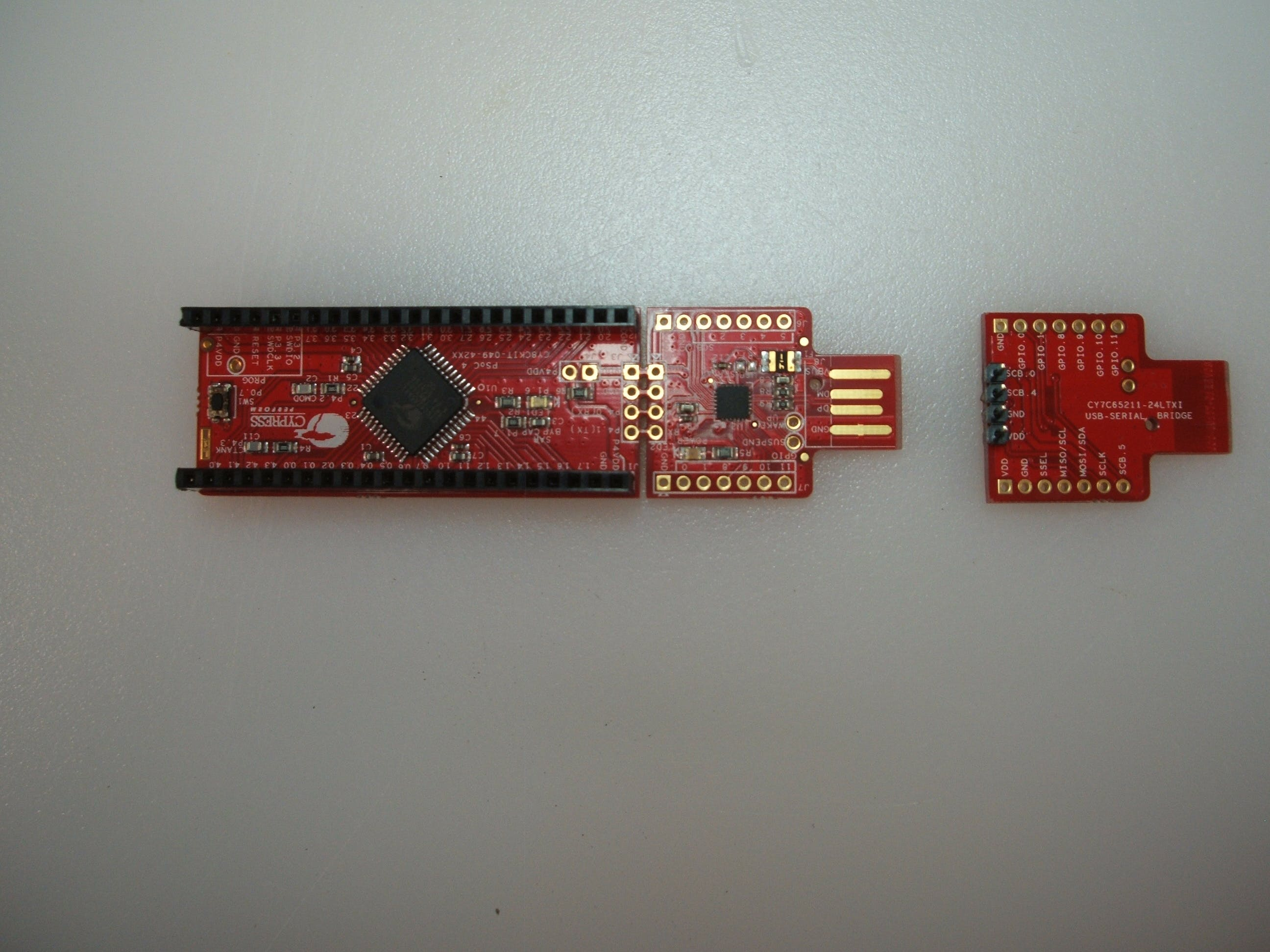 The USB-serial can separate!