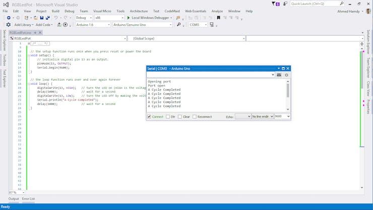 Arduino + Visual Studio = Fast Dev  - Hackster io