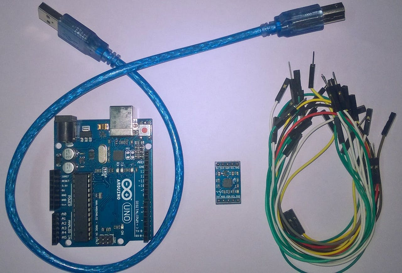 Getting Started With Imu 6 Dof Motion Sensor Mpu6050 Wiring Diagram