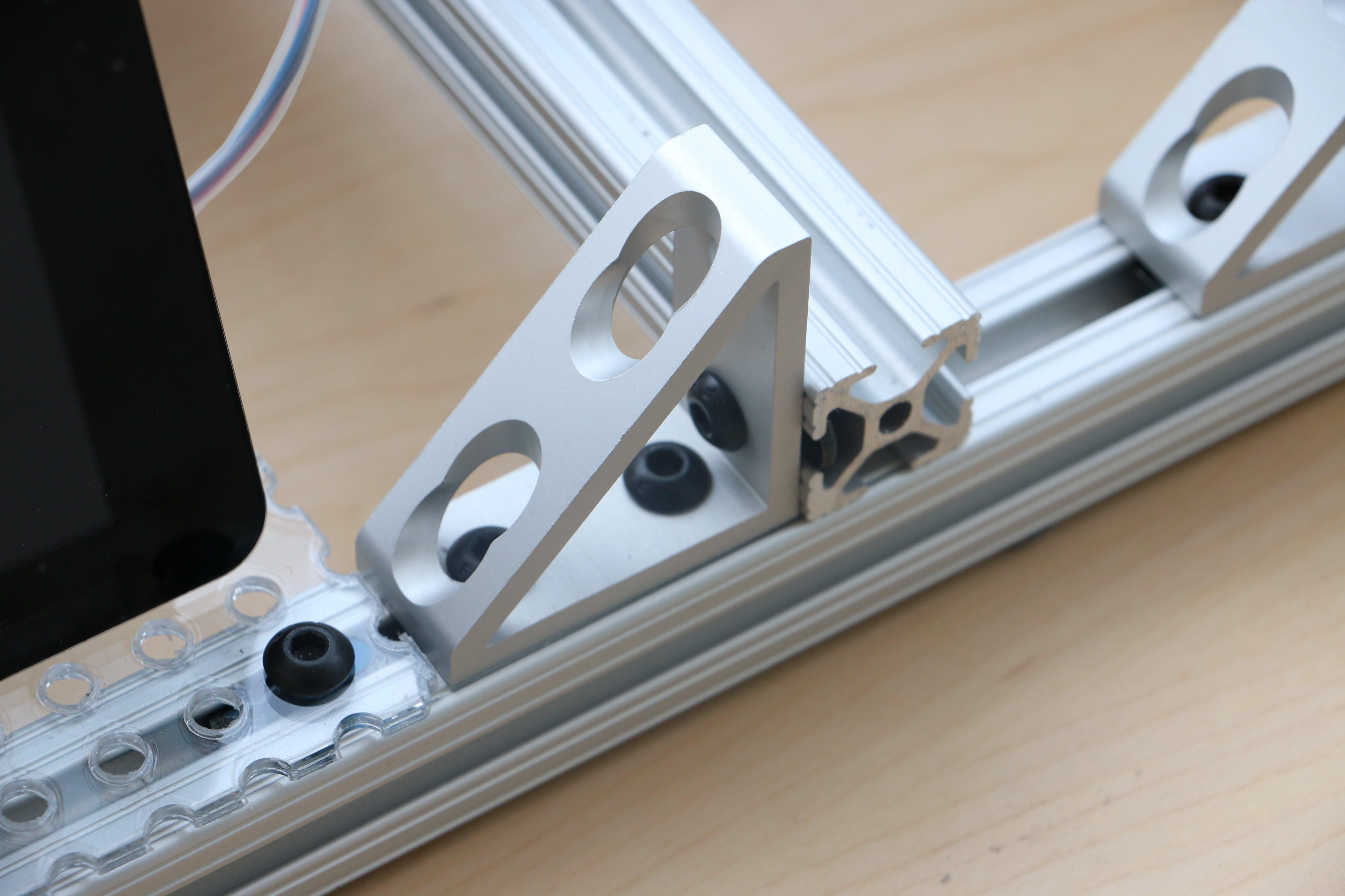 Corner brackets used for framing