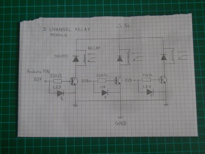 Schematic for the module