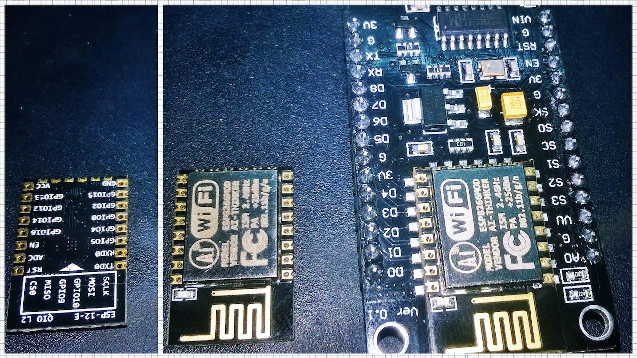 Getting Started With Esp 12e Nodemcu V3 Module Using Arduinoide Led Wiring Diagram This Breakout Is Built Around Board