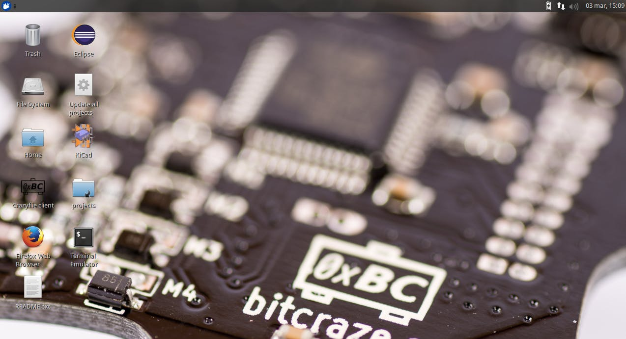 Bitcraze VM