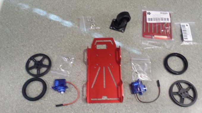 Parts for 2 wheeled Platform