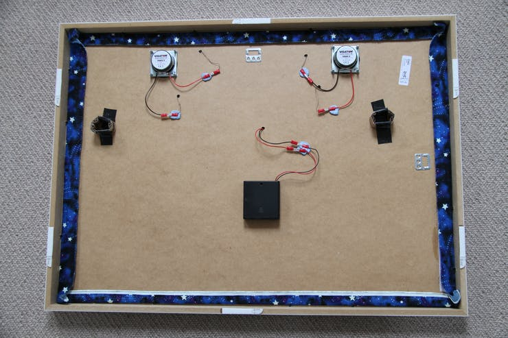 Wall Mounted Textile MP3 Player - Hackster io