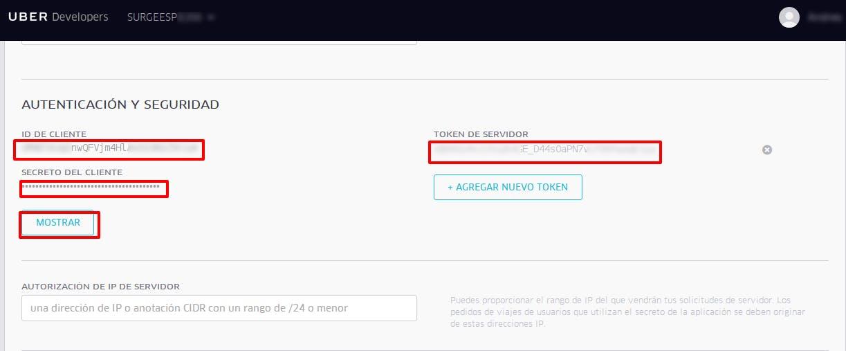 Uber Developer Register