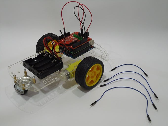 Wd voice controlled robot with arduino and bitvoicer