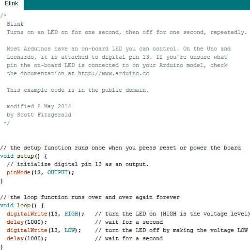 Fig (10) :Compile this code and Upload the code