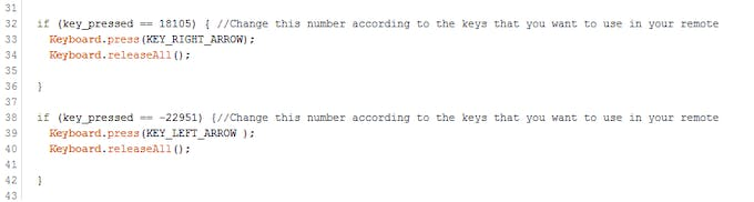 Numbers to replace