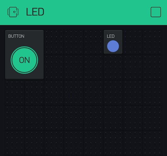 Led lights up as soon as button is pressed