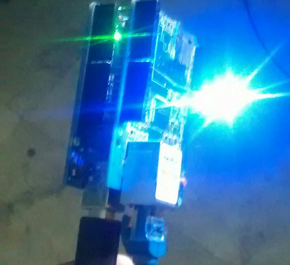 LED lights up on arduino