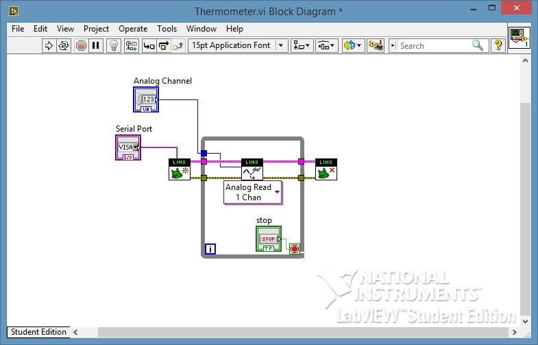 Arduino + LabVIEW p 2 - Reading Analog Input - Hackster io