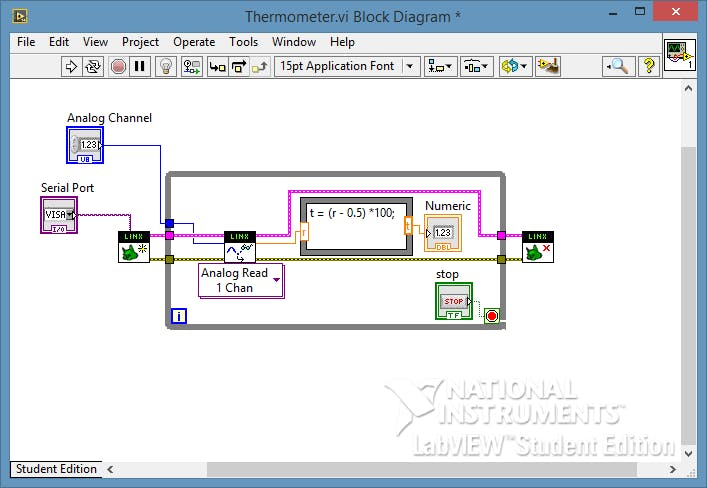 Arduino + LabVIEW p 2 - Reading Analog Input - Arduino
