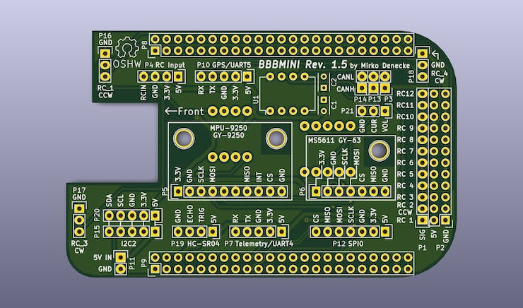 BBBMINI PCB