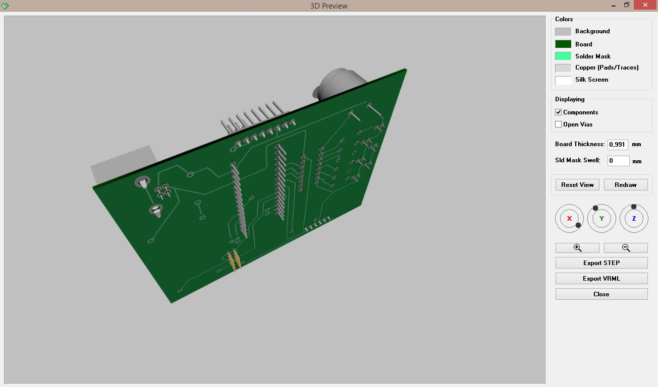 Future PCB, back side