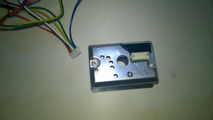 Sharp GP2Y1010AU0F Dust Sensor