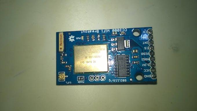 SFE TI CC3000 WiFi module