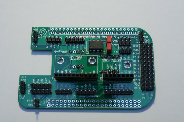Solder P5 and P6