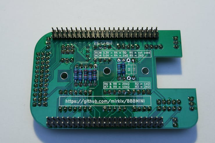 Solder P8 and P9