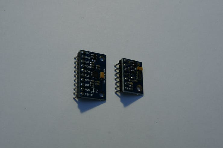 Solder pin-header to GY-9250 and GY-63