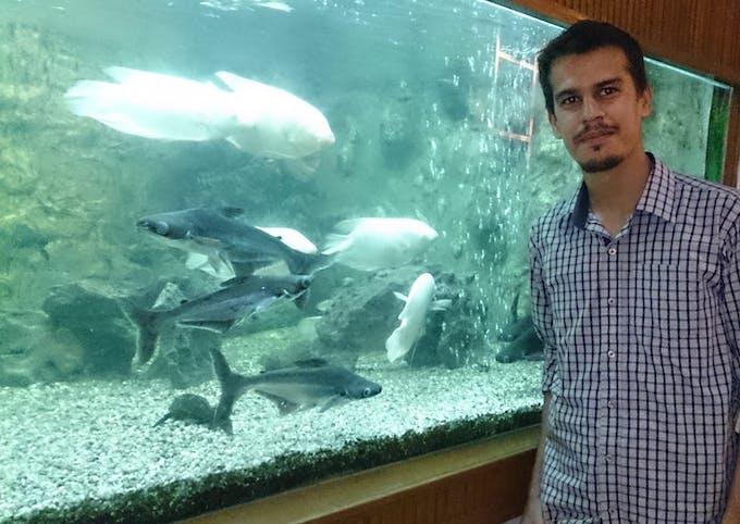 Fig 1: Large sized Aquarium at Karachi Museum