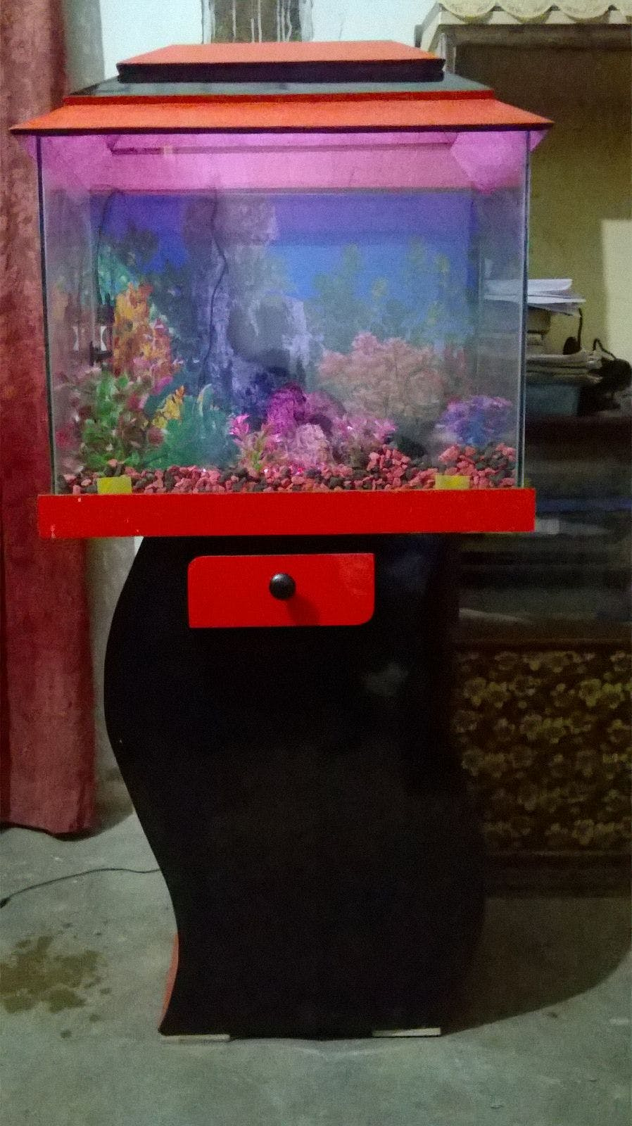 Fig 3: Aquarium used in the Project