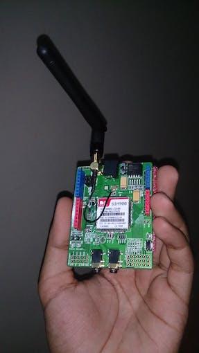 Fig 4: SIM900 GSM/GPRS Shield