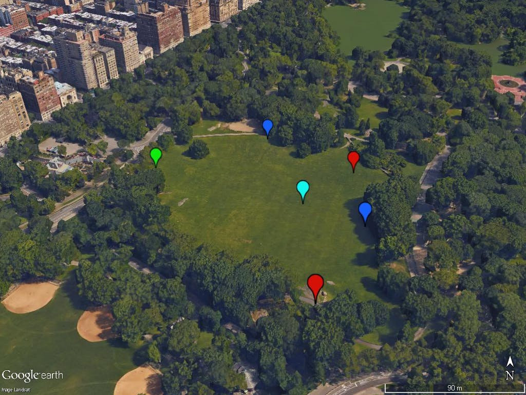 See the information collected with the Arduino GPS Datalogger on Google Earth Professional!