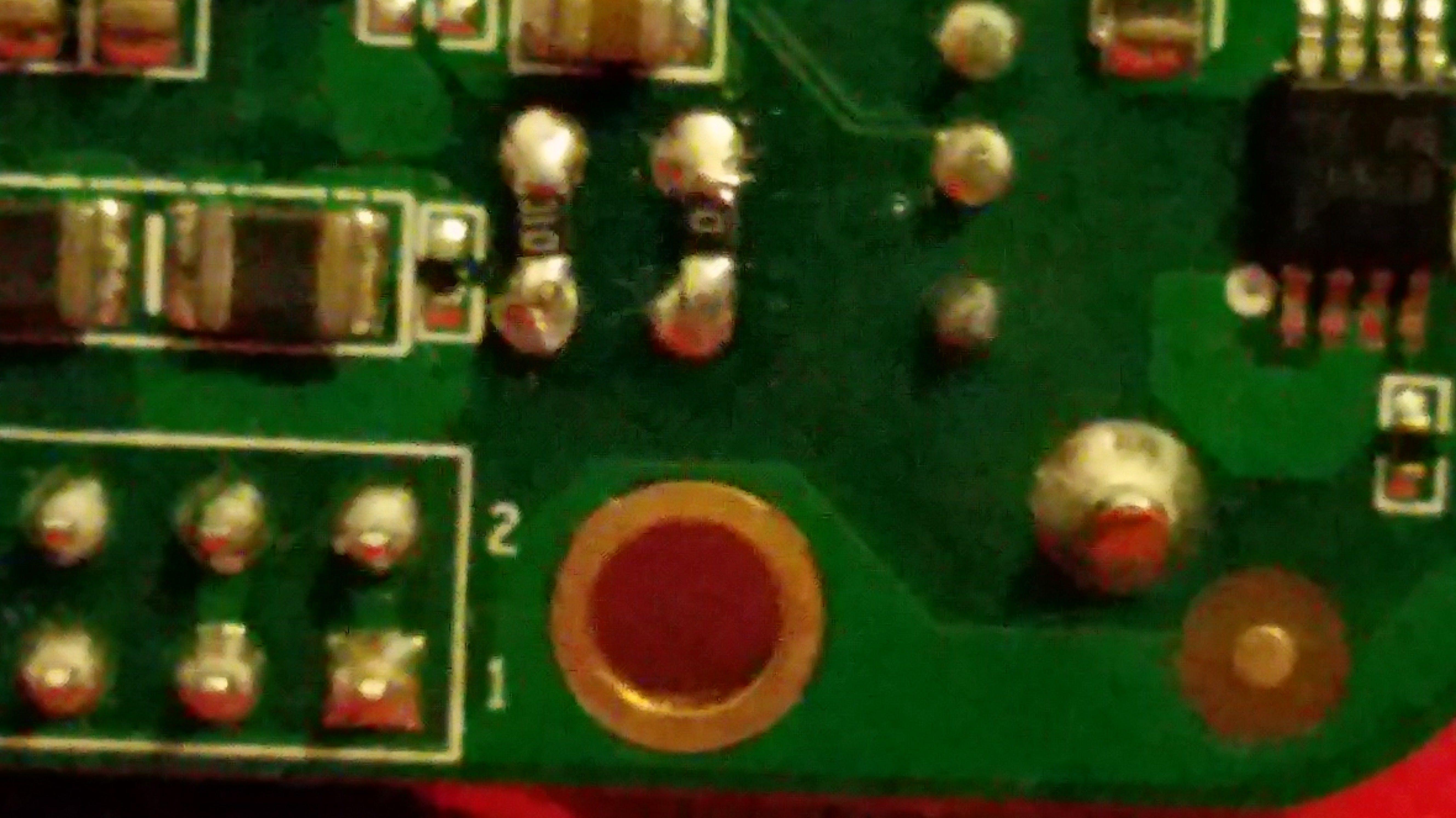 Resistors below BeagleBone Green