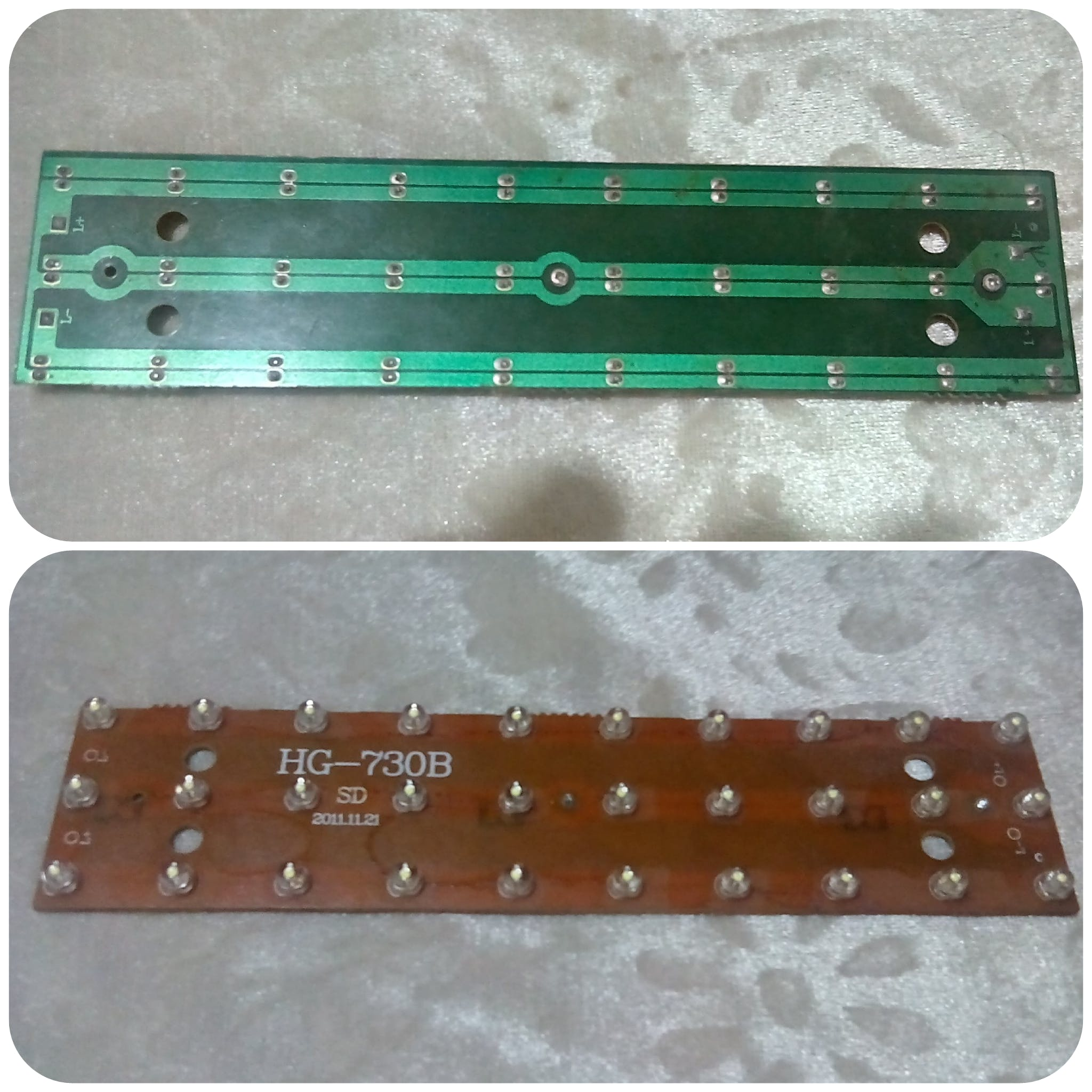 Fig 16: Set of 30 LED for the Roof of Aquarium