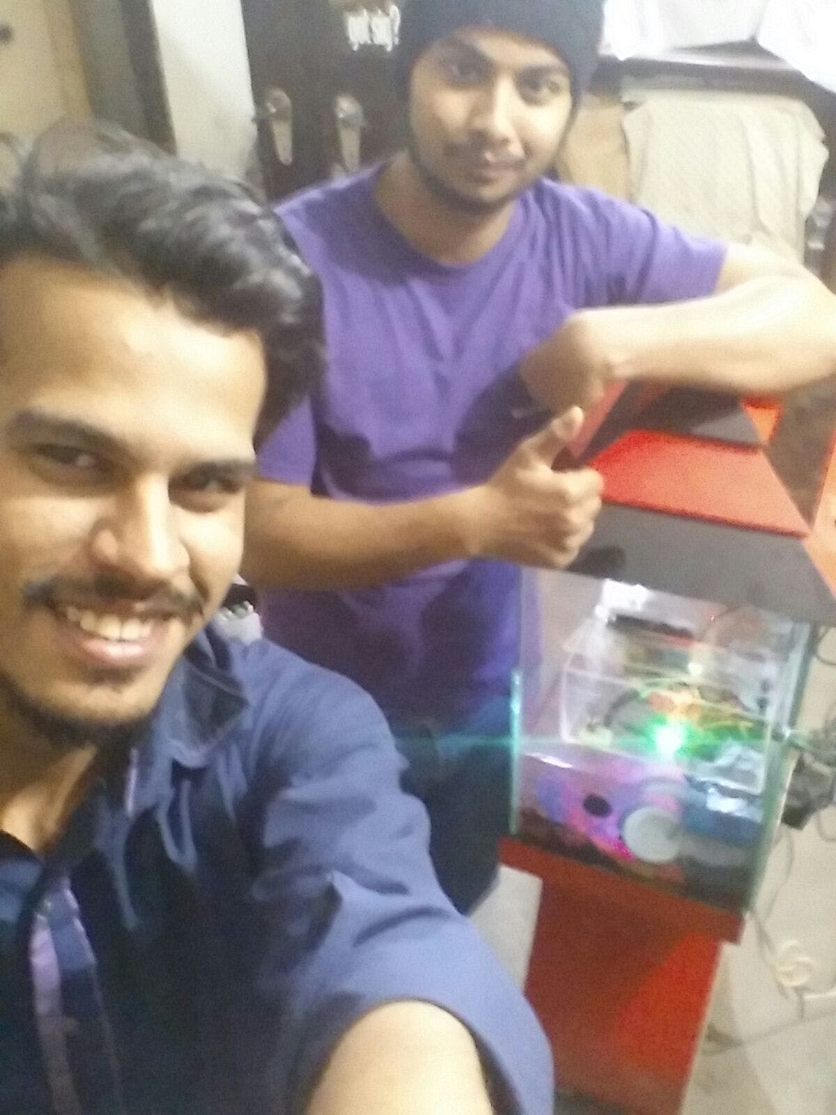 Fig 32: Selfie with the successful project