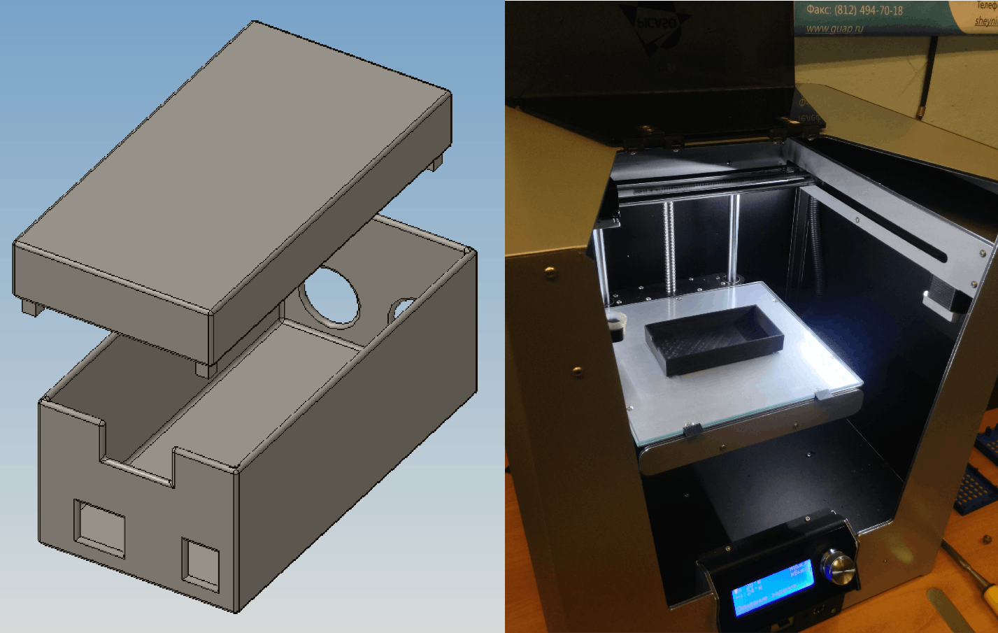 Roof box design and printing